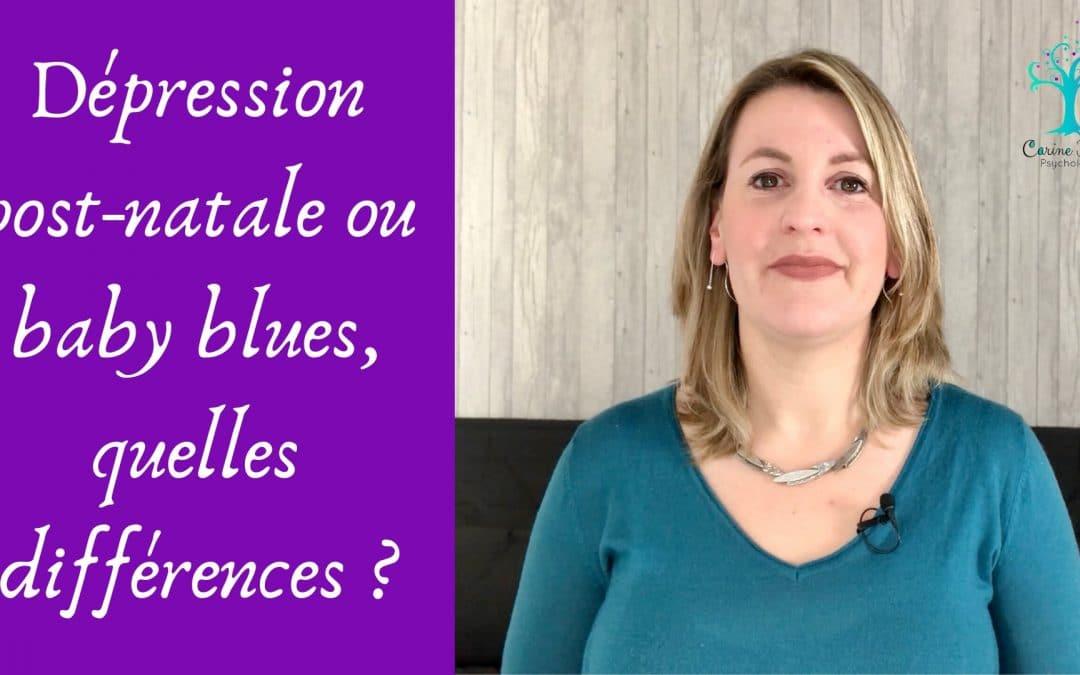 Dépression post-natale ou baby blues, quelles différences ?