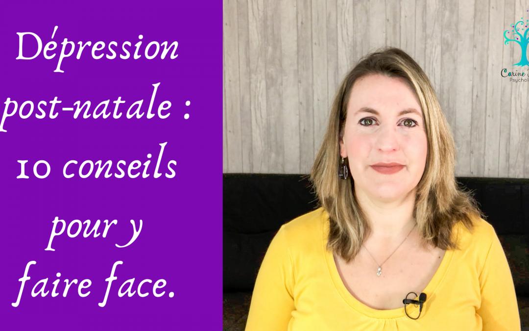 Dépression post-natale - 10 conseils pour y faire face