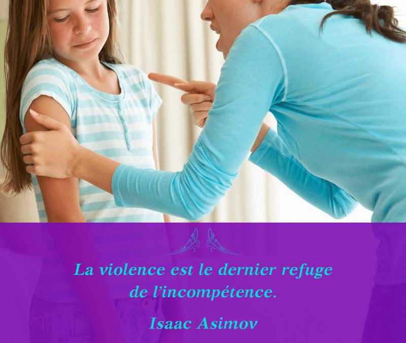 La violence est-elle de l'incompétence ?